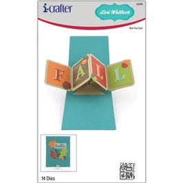 i-crafter Stanzform-Twist Pop Card