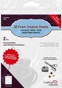 Scrapbook Adhesives-Creative Sheets Small/weiss