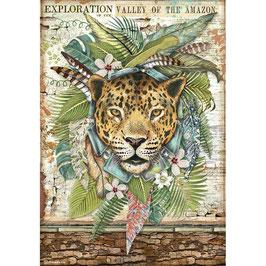Stamperia Reispapier A4-Amazonia DFSA4530