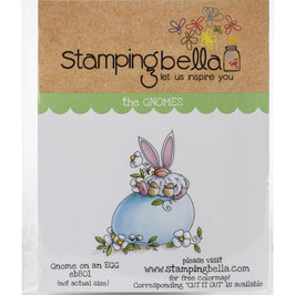 Stamping Bella-Cling Stamp/Gnome On A Egg