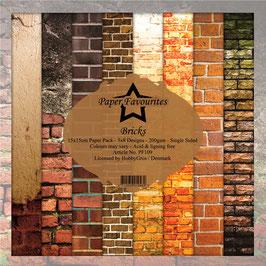 "Paper Favourites-Bricks 6x6"""
