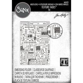 Sizzix by Tim Holtz-3D Prägeschablone/Circuit