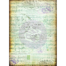 Finnabair-Seidenpapier/Musica-Pack