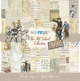 """Papers for you-Scrapbooking Papier/The Old School 12x12"""""""