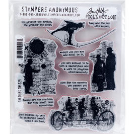 Stampers Anonymous by Tim Holtz-Stempel/Theories CMS329