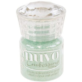 Nuvo-Embossing Pulver/Pearled Pistachio
