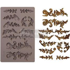 Re Design with Prima Marketing-Silikonform/Delicate Flora