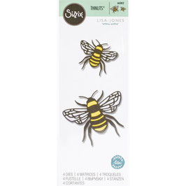 Sizzix Thinlits-Stanzform/Bee