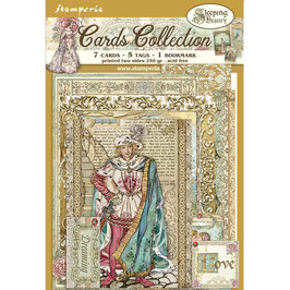Stamperia-Cards Collection Sleeping Beauty