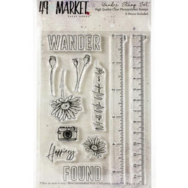 49 and Market-Stempel/Wander