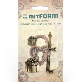 Mitform-Metall Charms/Christmas 4