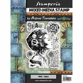 Stamperia-Stempel/Sea World-Lady