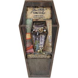 Idea-Ology by Tim Holtz/Wooden Vignette Coffin Tray