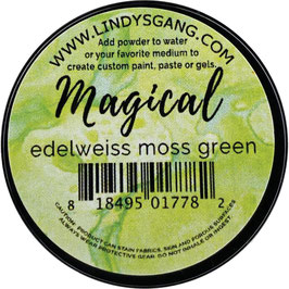 Lindy's-Magical/Edelweiss Moss Green