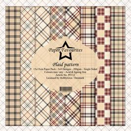 """Paper Favourites-Plaid Pattern 6x6"""""""