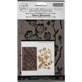 Re Design with Prima Marketing-Silikonform/Cherry Blossoms