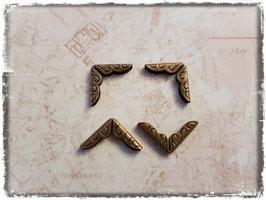 Buchecken - Vintage bronce - klein 305