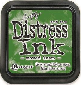 Distress Ink-mowed lawn