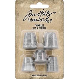 Idea-Ology by Tim Holtz/Metal Thimbles