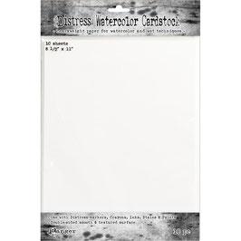 "Distress-Watercolor Cardstock 8.5""x11"""