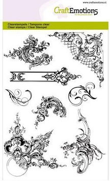 Craft Emotions-Clear Stamps/Ornaments