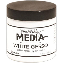 Dina Wakley-White Gesso/Dose 118ml