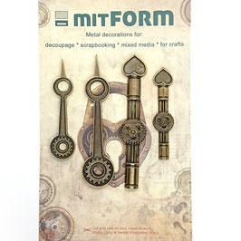 Mitform-Metall Charms/Clock 3