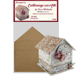 Stamperia-Cartonnage/Box House Kit