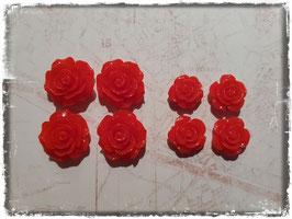Harzblumen - rot