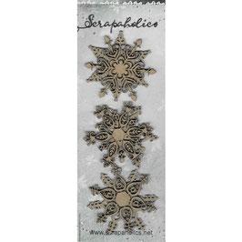 Scrapaholic-Laser Cut Chipboard-Fancy Flakes