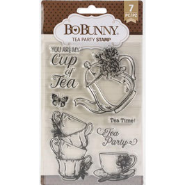 Bo Bunny-Stempel/Tea Party