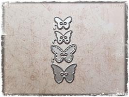 Stanzform-Knöpfe Schmetterlinge 1103