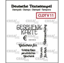 """Crealies-Clear Stamps """"Verschiedene 11"""""""