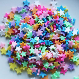 Dress My Crafts/Shaker Elements-Multicolored Stars