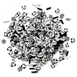 Buttons Galore-Sprinkletz Shaker Elements/Panda 12gr.