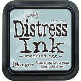 Distress Ink-speckled egg