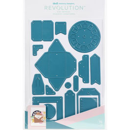 We R Memory Keepers Revolution Stanzform-Eclectic Vintage