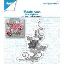 Joycrafts Stanzform-Beautiful rose