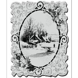 Stampendous! Stempel-Vintage Vignette