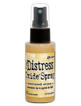 Distress Oxide Spray-scattered straw