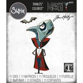 Sizzix by Tim Holtz Thinlits-Stanzform/The Count Colorize