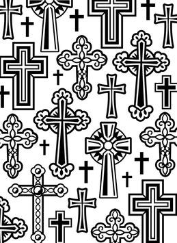Darice-Prägeschablone/Folder Crosses