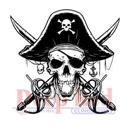 Deep Red-Stempel/Beware Of Pirates