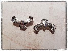 Metall Charms-Adler Silber-223-2