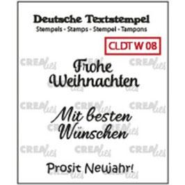 """Crealies-Clear Stamps """"Weihnachten 08"""""""