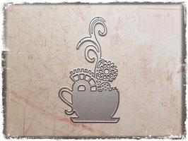 Stanzform-Steampunk Kaffeetasse 2125