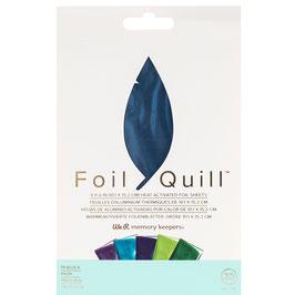 "We R-Foil Quill Folienblätter 4x6""/Peacock"