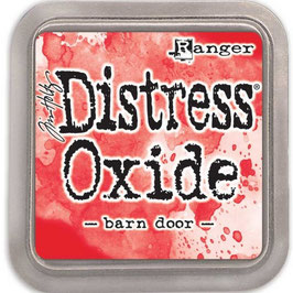 Distress Oxide Stempelkissen-barn door