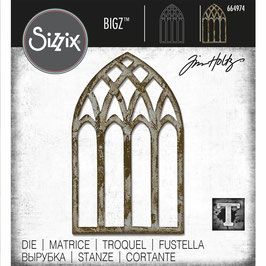 Sizzix by Tim Holtz Bigz-Stanzform/Cathedral window
