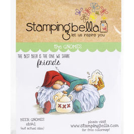 Stamping Bella-Cling Stamp/Beer Gnomes